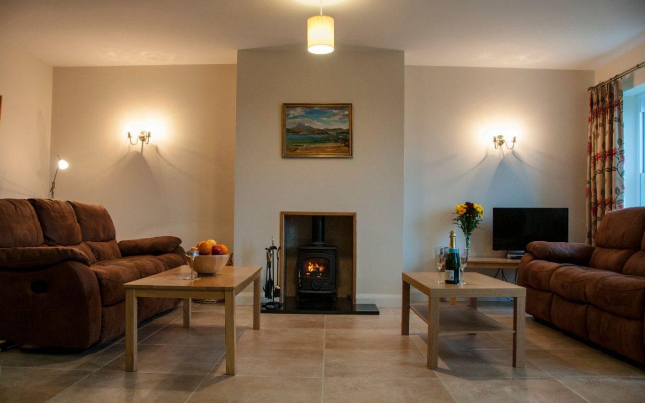 Finn Cottage living room