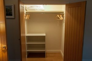 Finn Cottage bedroom storage