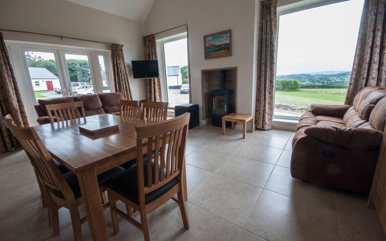 Strule Cottage living room